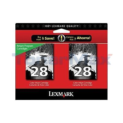 LEXMARK X5070 NO. 28 RP PRINT CART BLACK